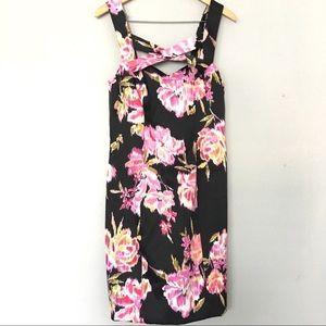 New CACHE Sheath Dress Floral SZ 12